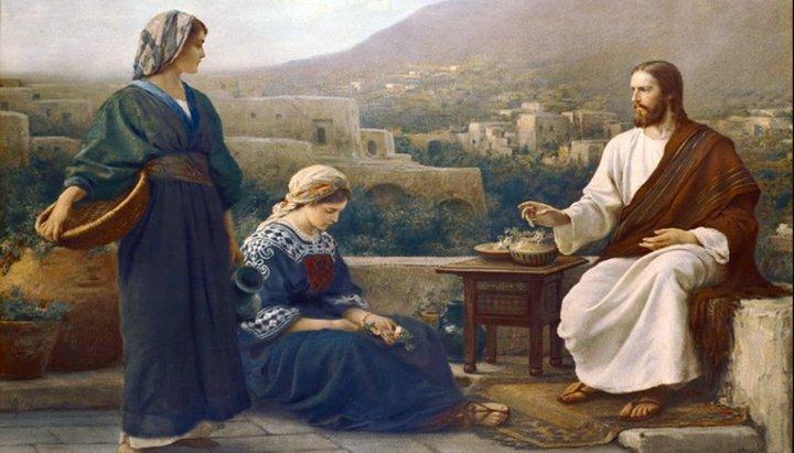 Что более угодно Богу, служение Марии или служение Марфы?