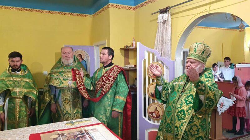 Епископ Анатолий совершил Литургию в селе Котовское