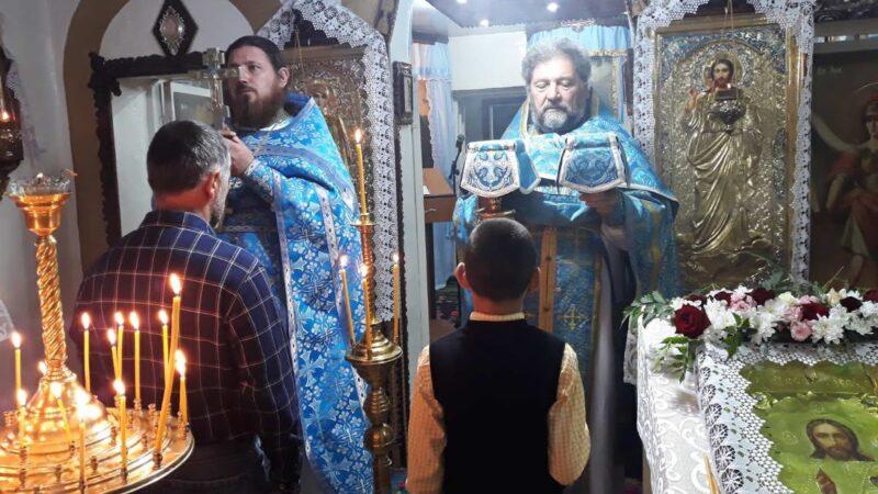(ФОТО) Престольный праздник в Свято-Покровском храме г. Вулканешты