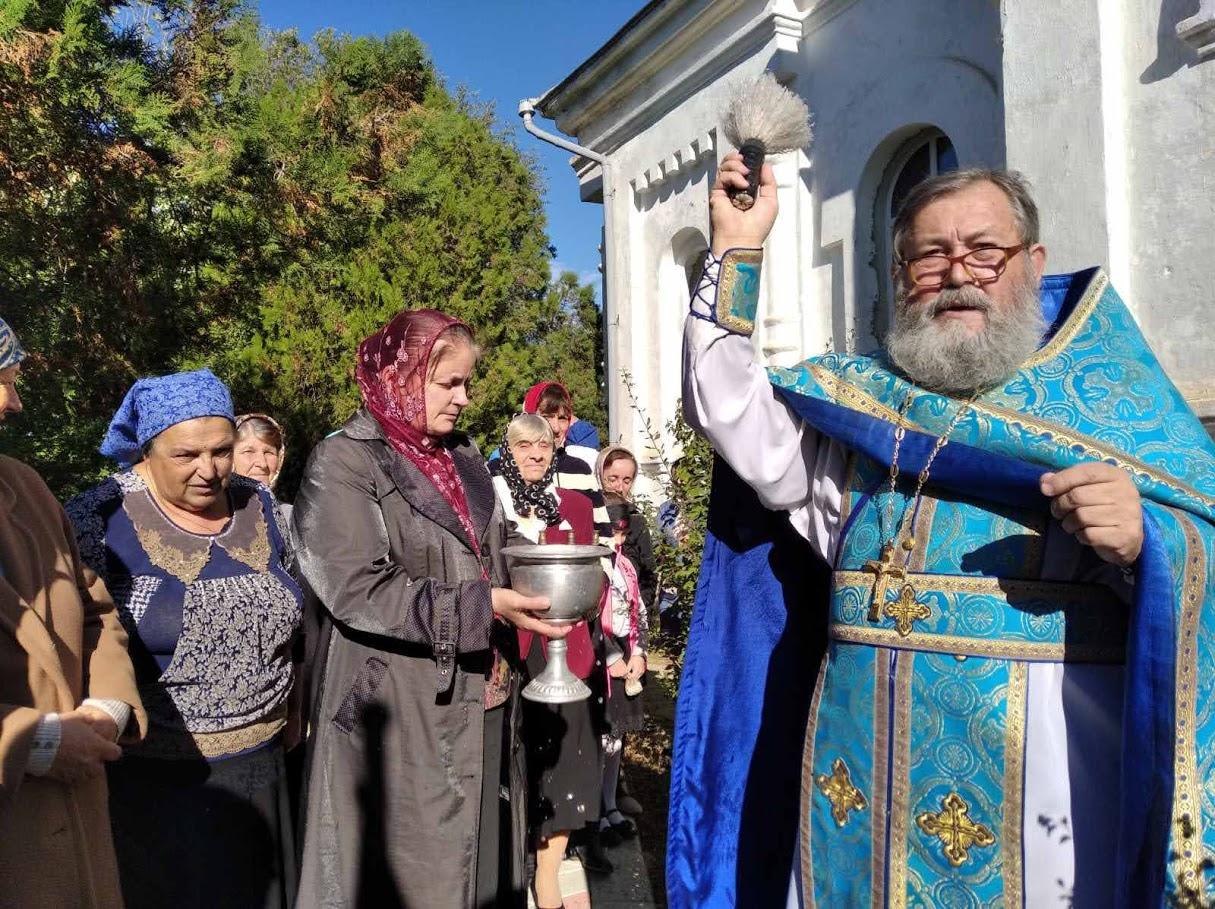 (ФОТО) Престольный праздник в Свято-Покровском храме с. Кайраклия