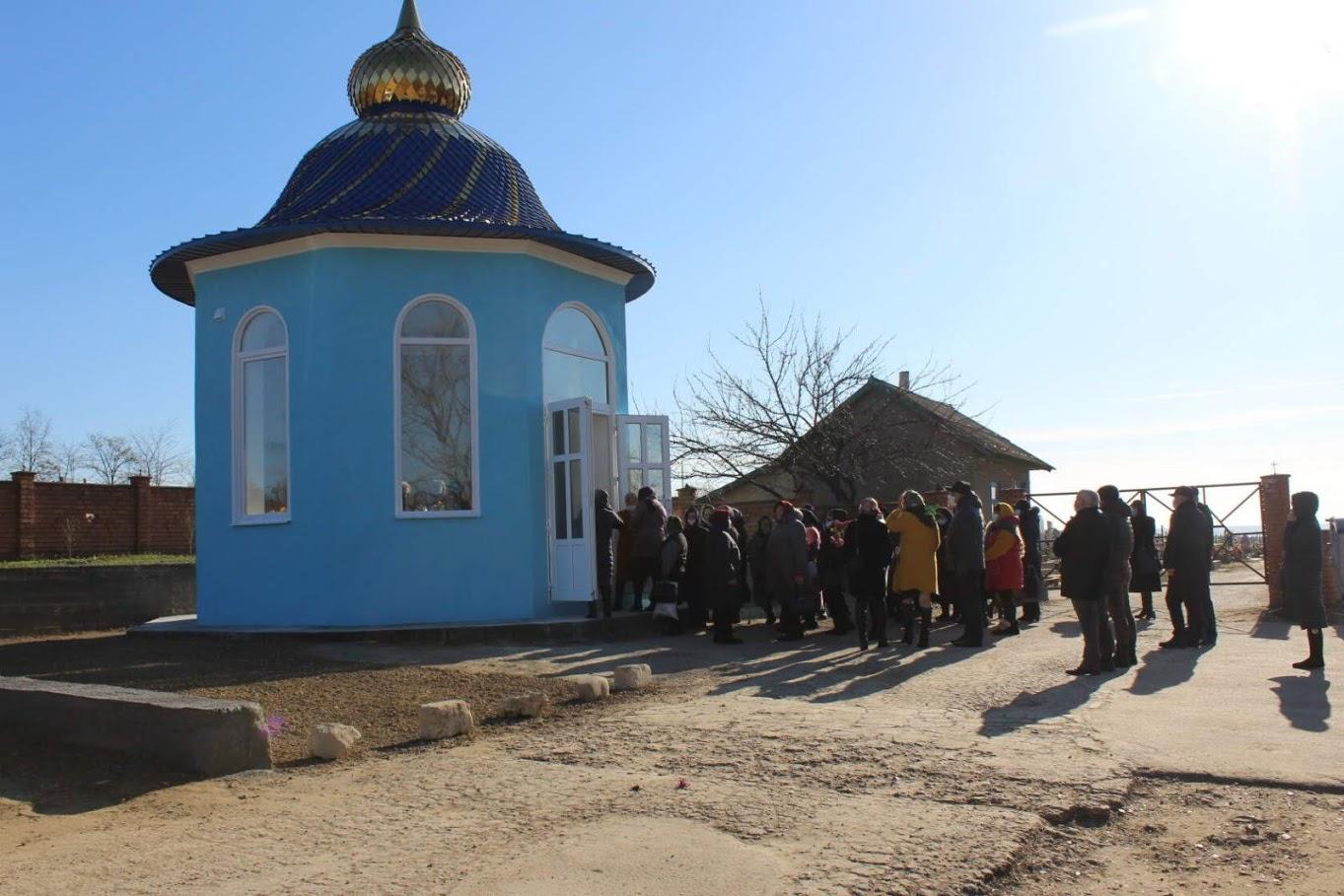 (ФОТО) В Вулканештах освятили часовню на территории кладбища