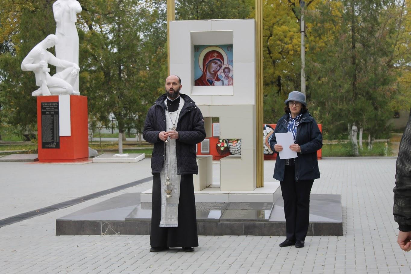 В Чадыр-Лунге священник совершил панихиду по почившим войнам Первой мировой войны