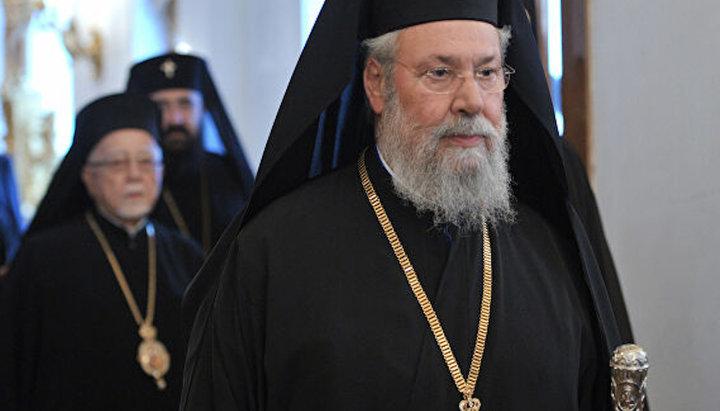 РПЦ прекращает поминовение архиепископа Кипрского Хризостома в диптихах
