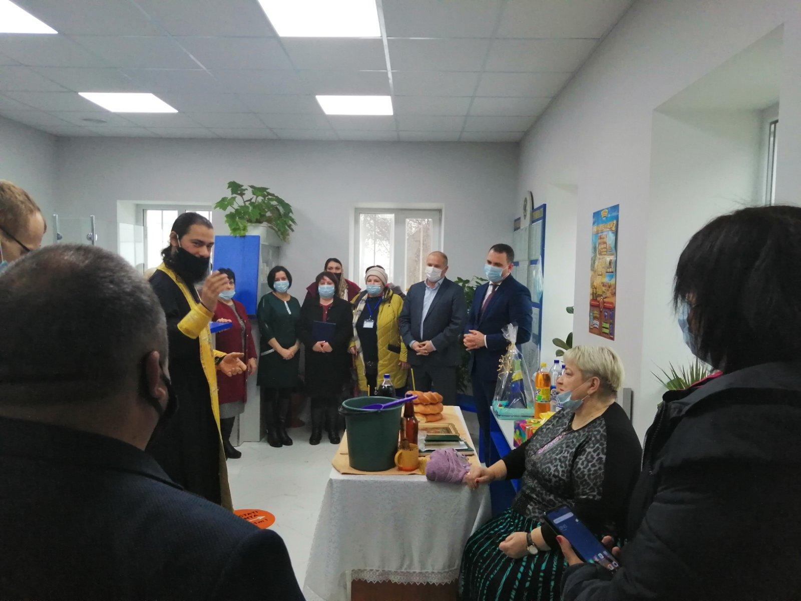 (ФОТО) В Чадыр-Лунге освятили почтовое отделение после ремонта