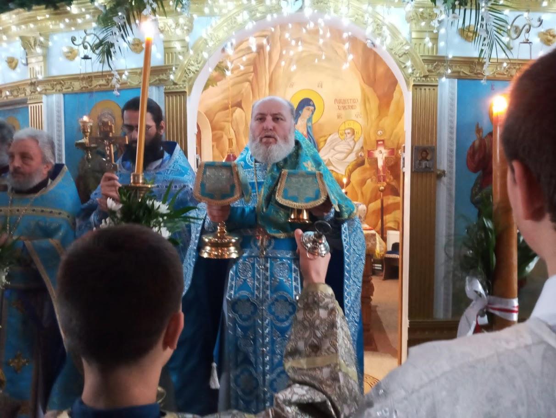 (ФОТО) Престольный праздник (курбан) в храме Рождества Христова мун. Чадыр-Лунга