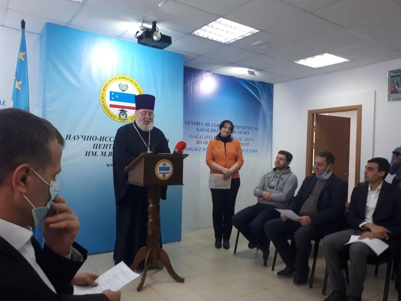 (ФОТО) В НИЦ Гагаузии прошел круглый стол посвященный 165-ти летию возведения Комратского собора