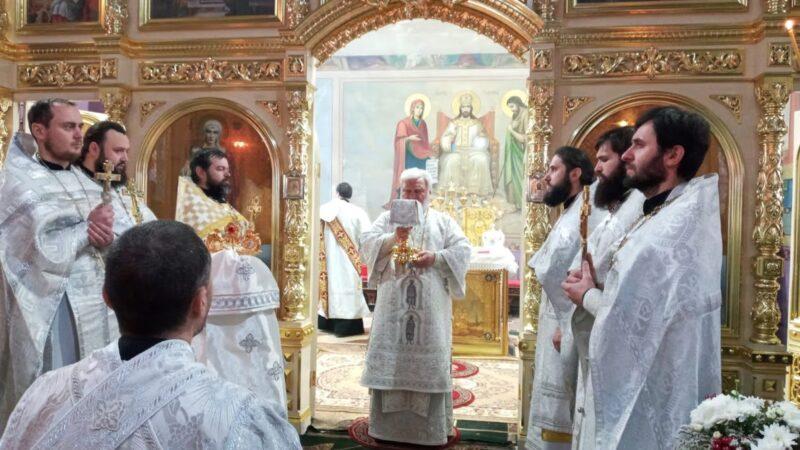 (ФОТО) Престольный праздник (курбан) в Кафедральном Комратском соборе
