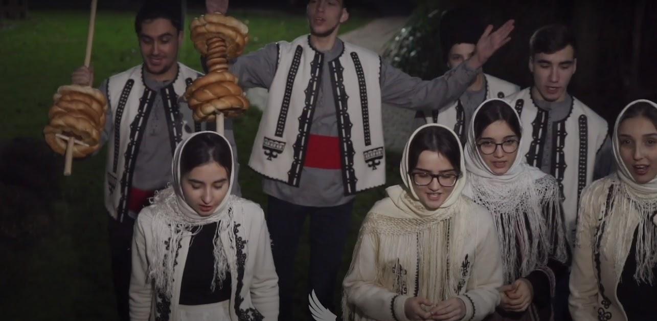(ВИДЕО) Рождественское поздравление Воскресной школы храма Казанской иконы Божией Матери мун. Чадыр-Лунга