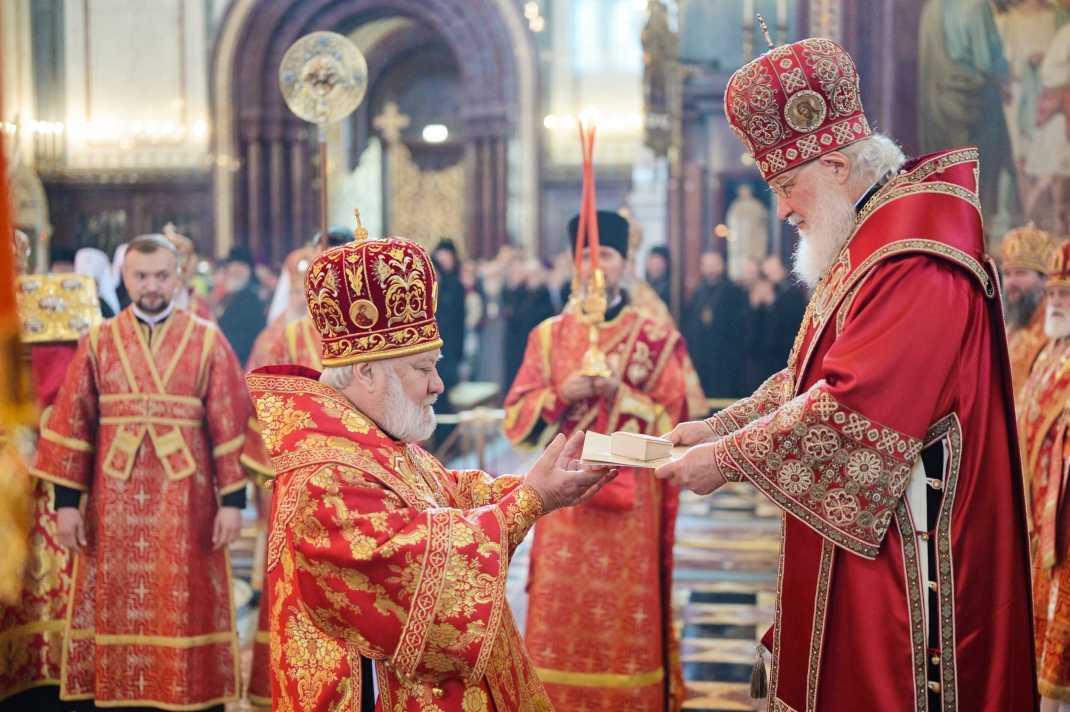 Епископ Анатолий возведен в сан архиепископа