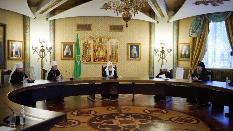 (ФОТО) Патриарх Кирилл встретился с епикопатом Православной Церкви Молдовы