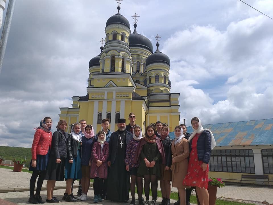 Паломничество по монастырям Молдовы совершил приход с. Конгаз