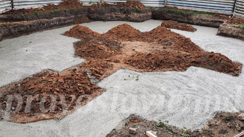 (ФОТО) В Чадыр-Лунге приступили к строительству фундамента часовни