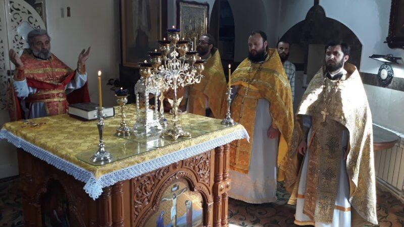 (ФОТО) Престольный праздник в храме в честь пророка Илии мун. Комрат