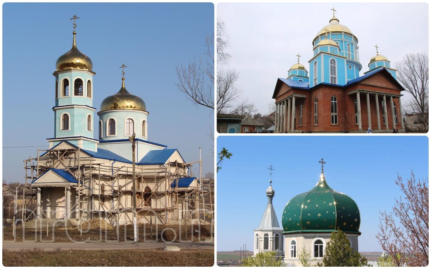 Три храма в Вулканештском районе получили от властей средства для продолжения строительства