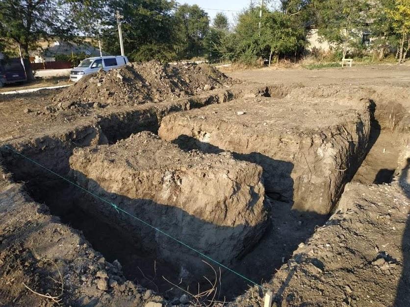 (ФОТО) В селе Чалык началось строительство храма