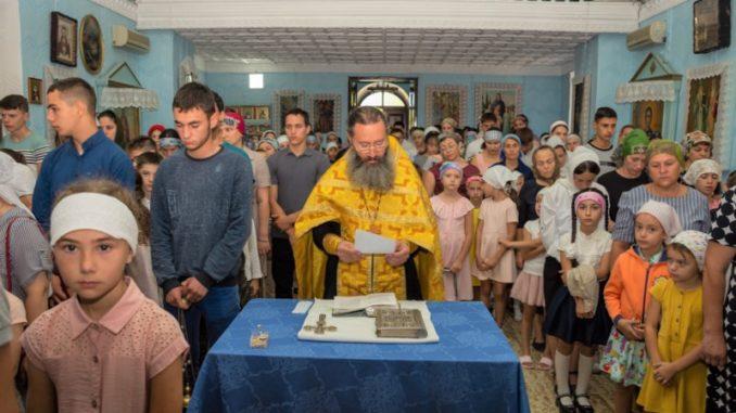 (ФОТО) Молебен перед началом учебного года в с. Копчак