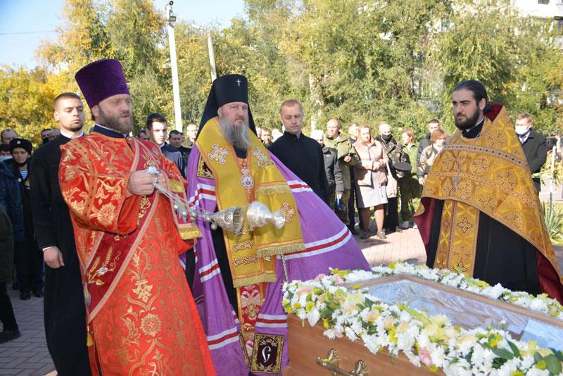 (ФОТО) Представитель Кагульско-Комратской епархии принял участие в перезахоронении останков в Тирасполе