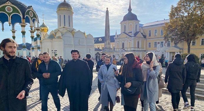 (ФОТО) В Троице Сергиевой Лавре состоялась первая встреча гагаузских студентов