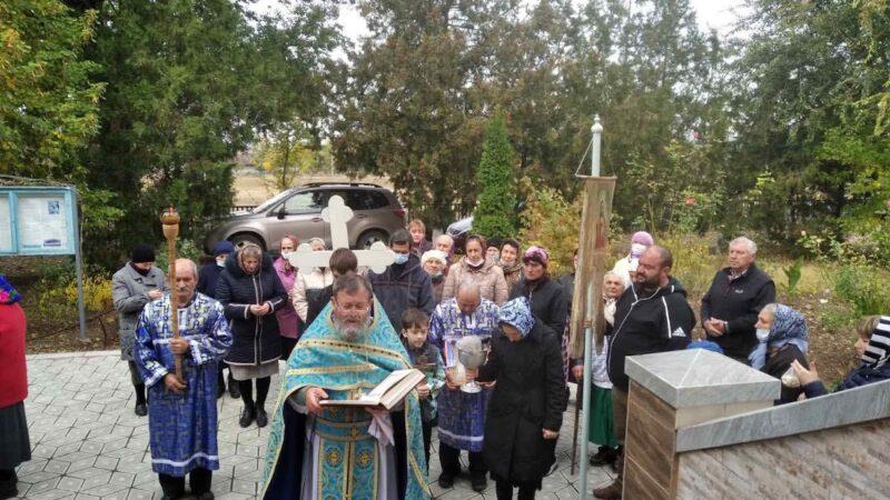 (ФОТО) Праздничная Литургия по случаю престольного праздника в селе Кайраклия