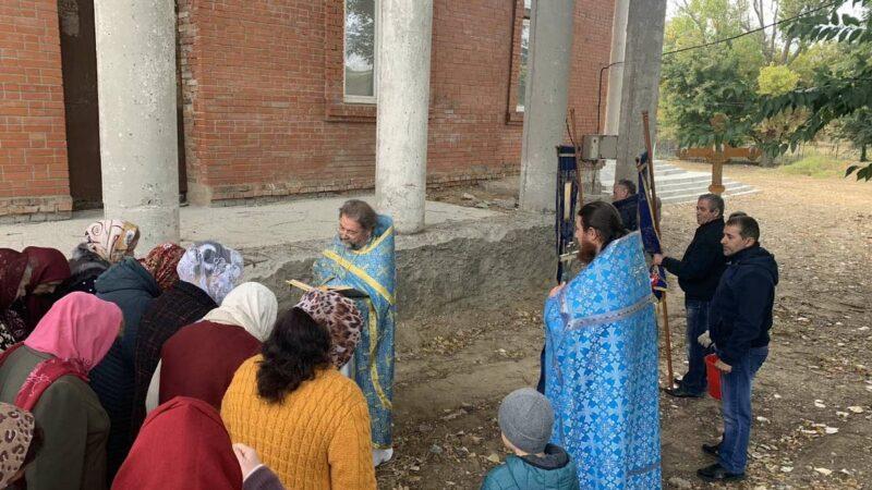 (ФОТО) Престольный праздник в Покровском храме города Вулканешты